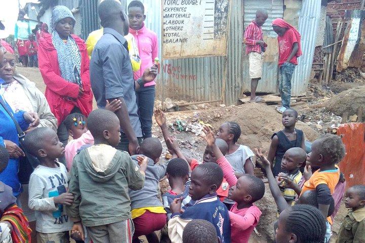 Residents of the Kibera Slum