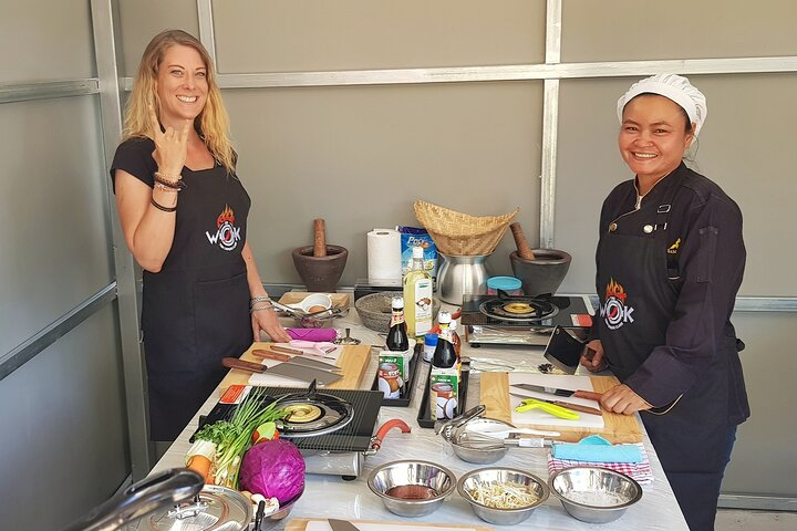 Private Thai Cooking Class by Rock The Wok in Koh Samui