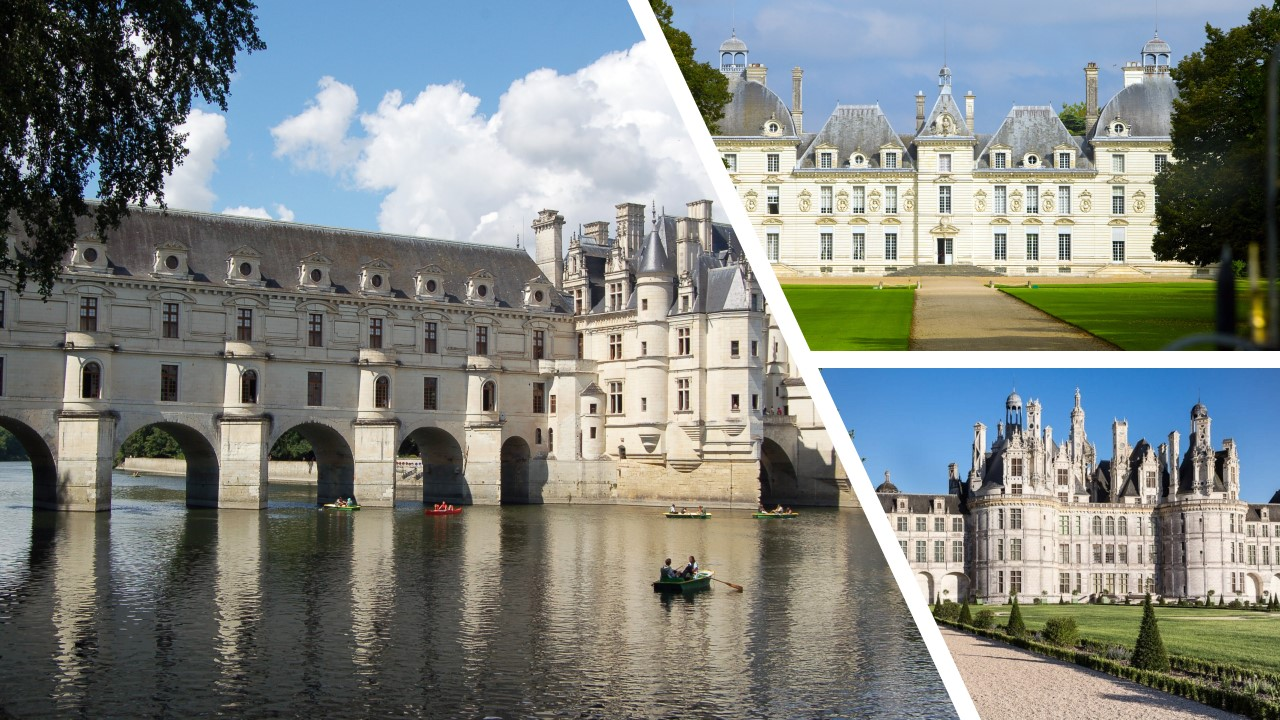 LOIRE VALLEY: Your selection of three castles to visit (Day-trip from PARIS)