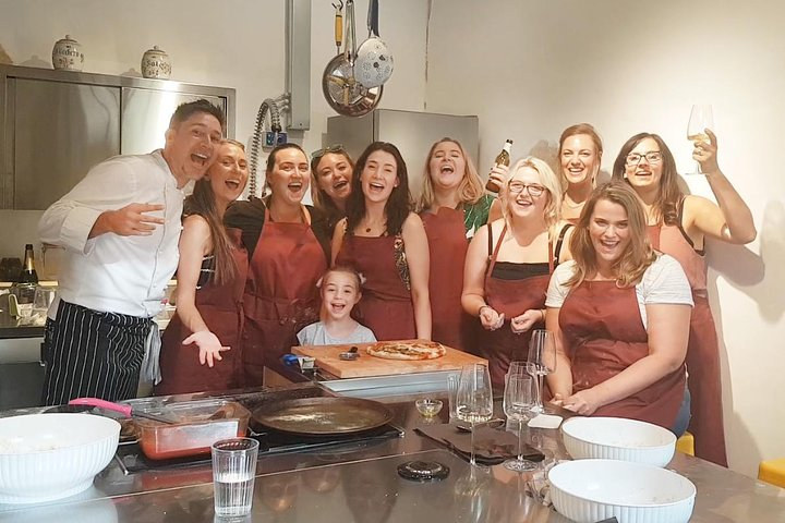 The Art of Making Pizza-Cooking Class in Unique Location with Italian Pizzachef