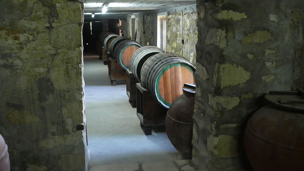 Head to the cellar for a wine tour