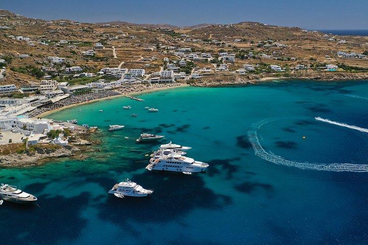 Mykonos Island South Coast Cruise with Lunch