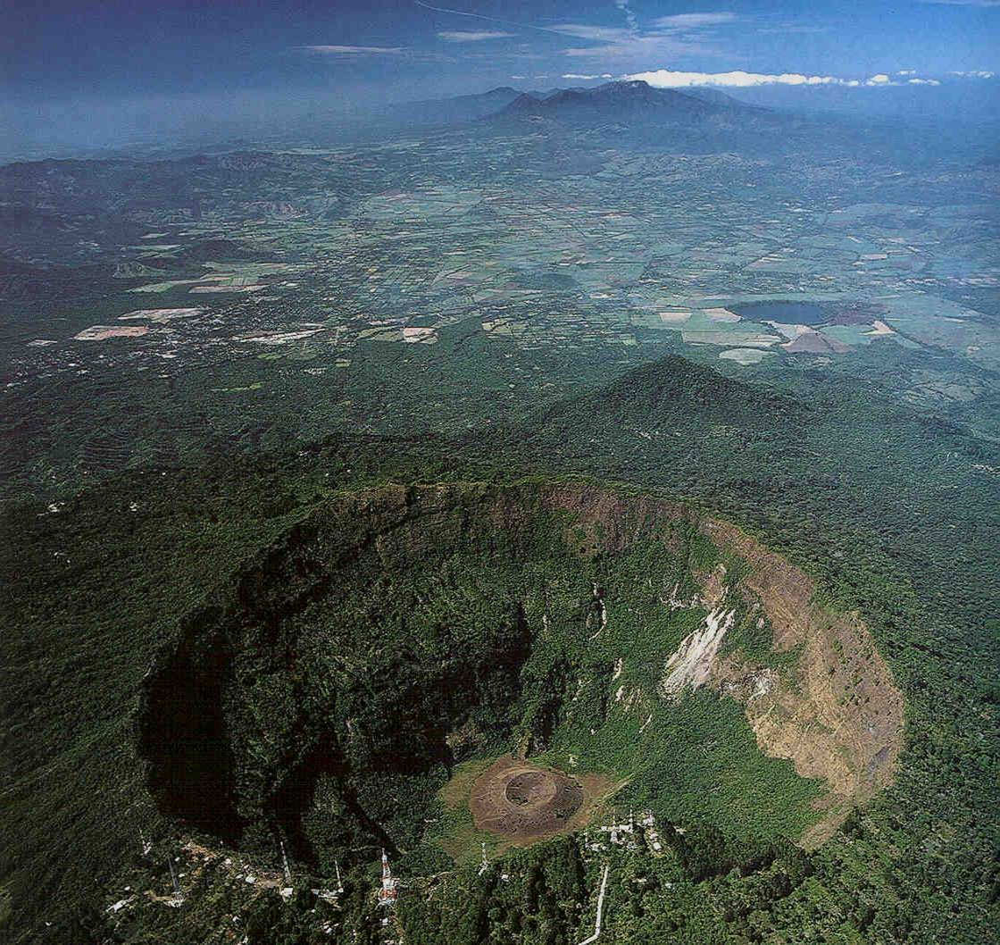 Look at the amazing volcano