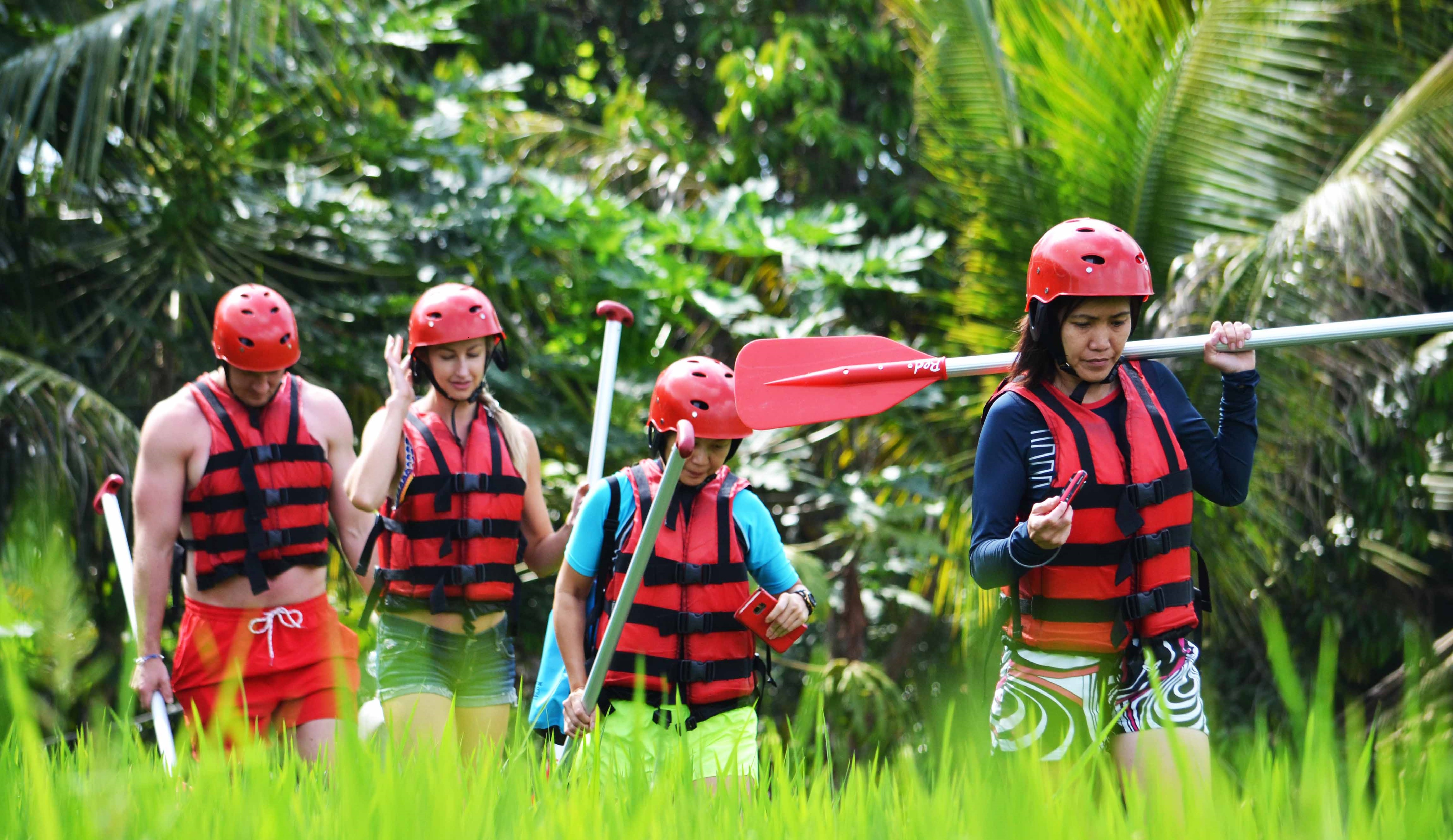 Get ready for an adventure raft