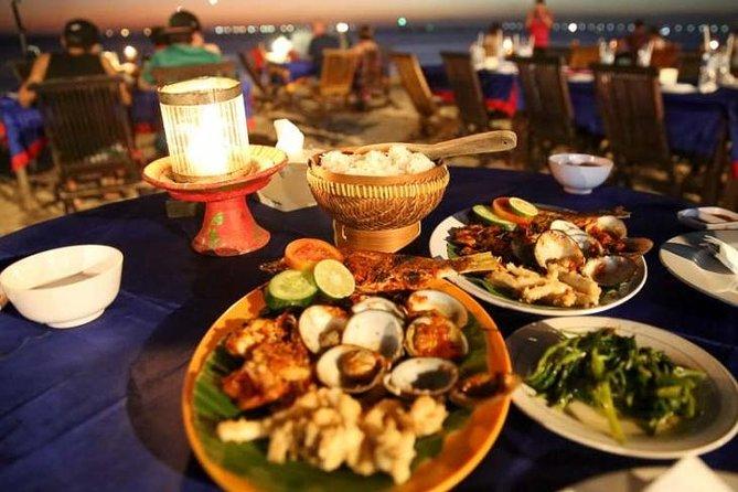 Bali Jimbaran Healing Dinner with Private Transport