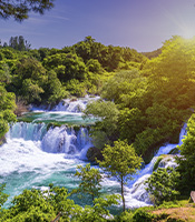 imagem da experiência Sibenik e cachoeiras de Krka