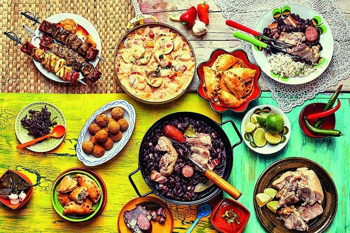 Devour authentic Brazilian meal