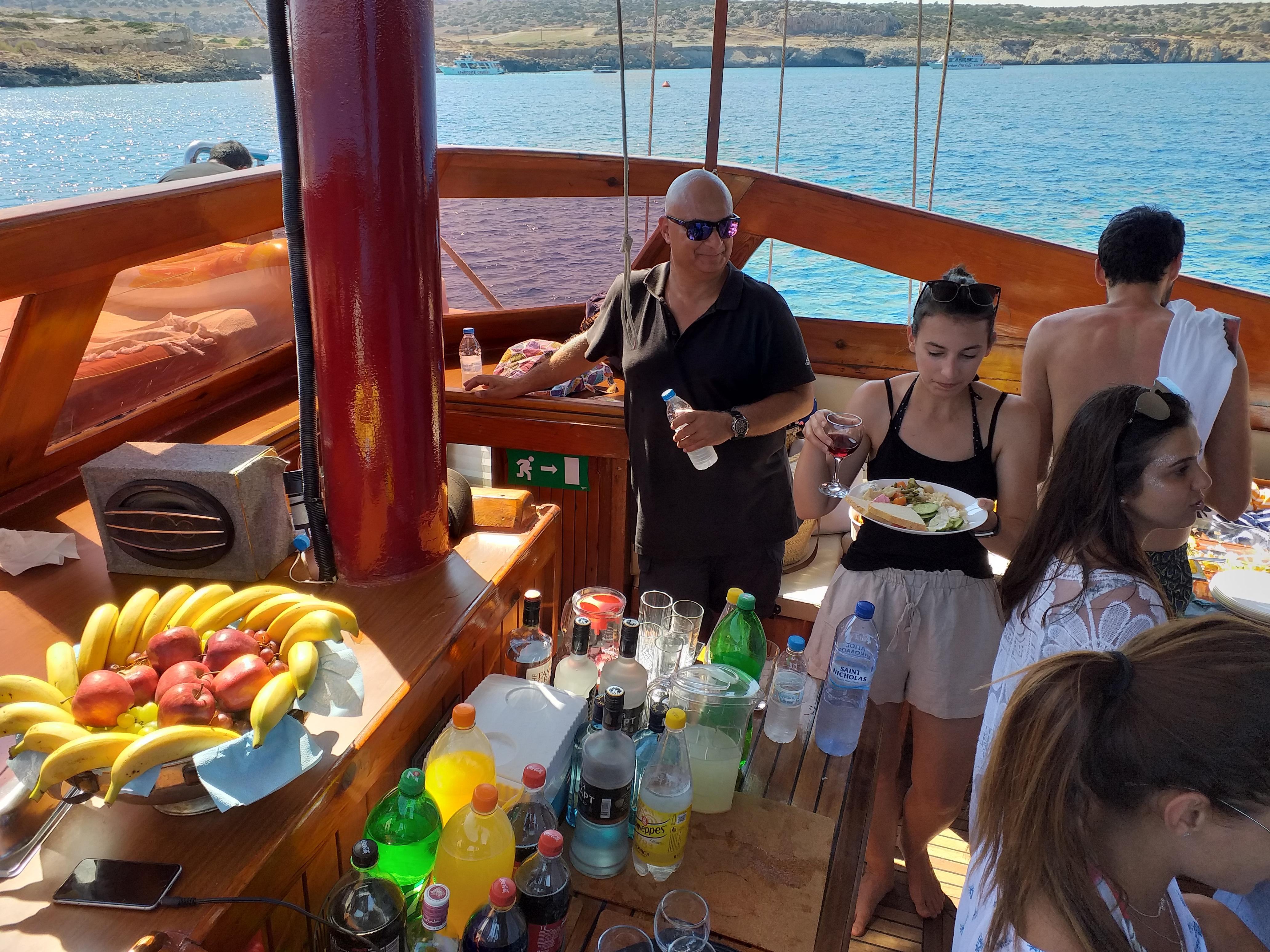 Relish food on board