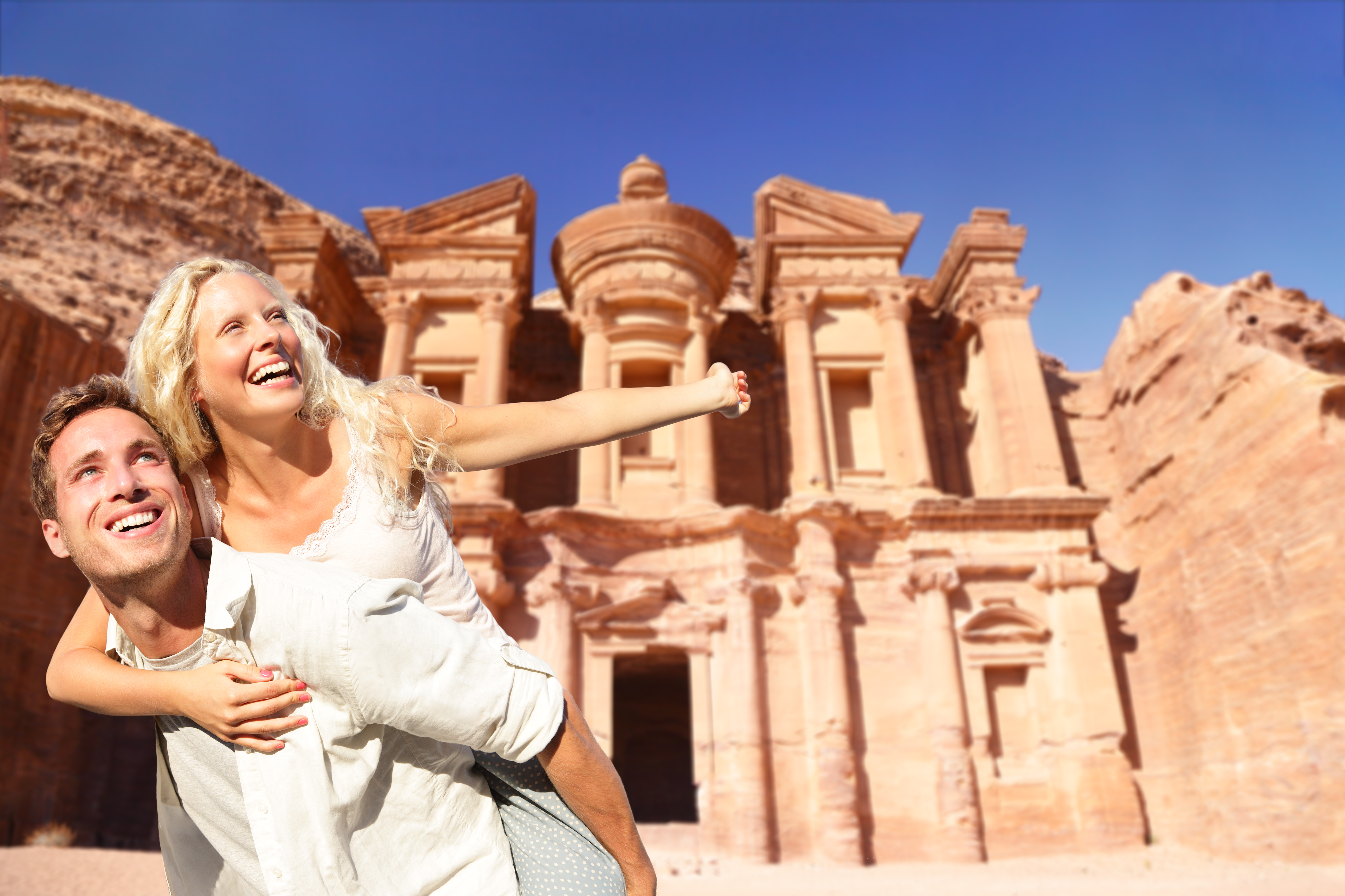Come to visit the historic city of Petra