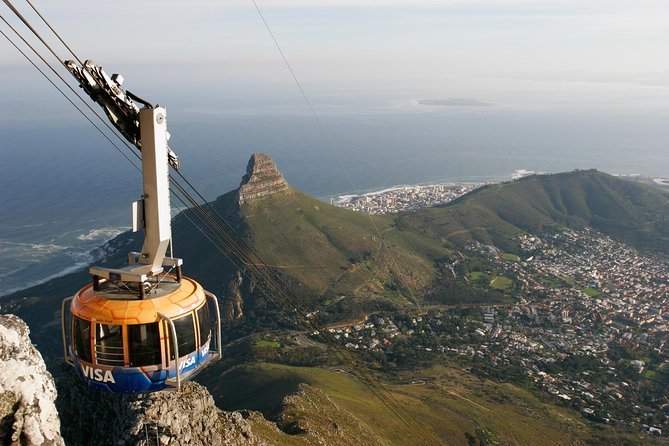 Take a cable car ride to Table Mountain