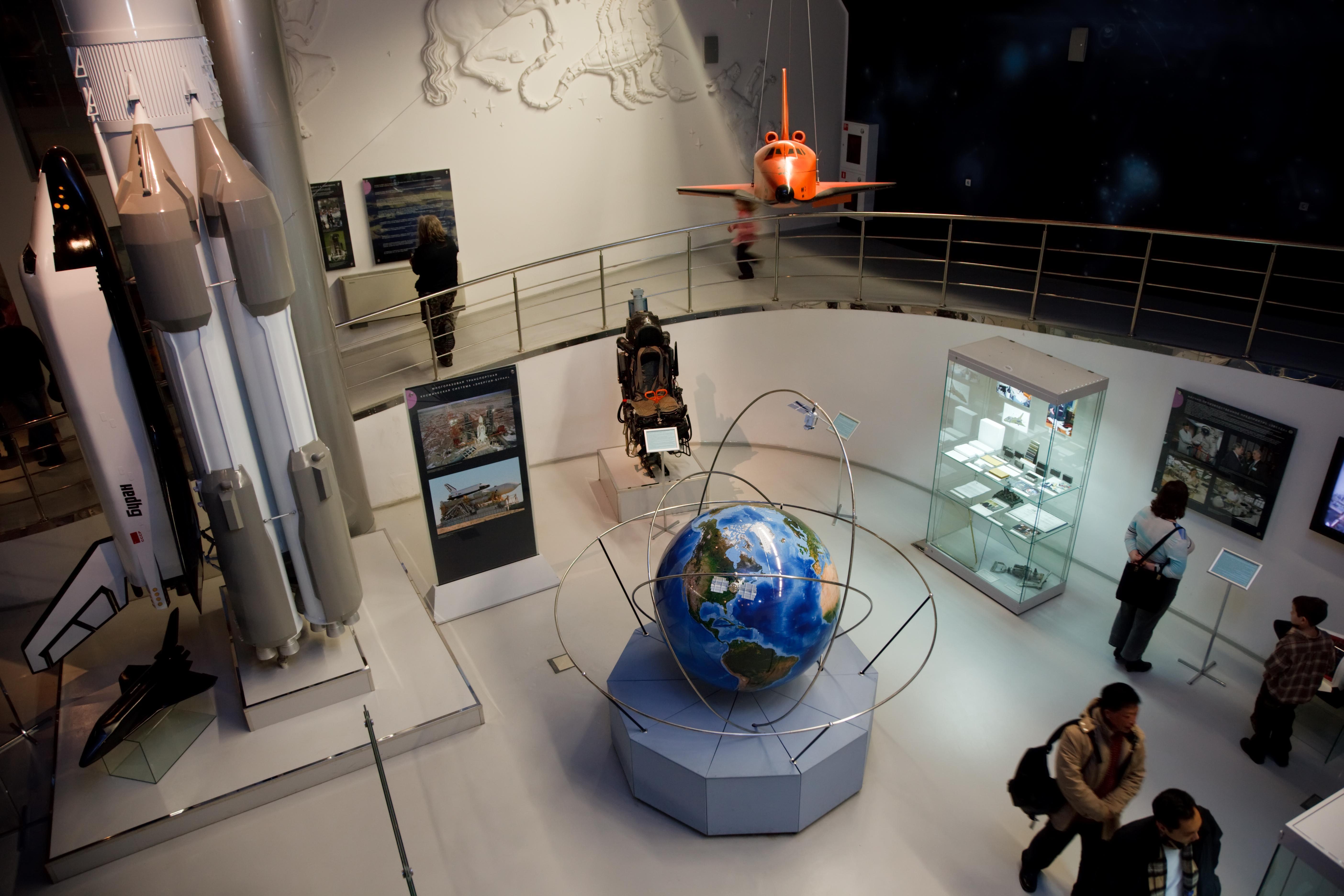 Soviet space displays