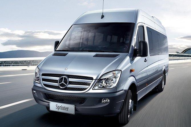 Ride in a spacious mini-van