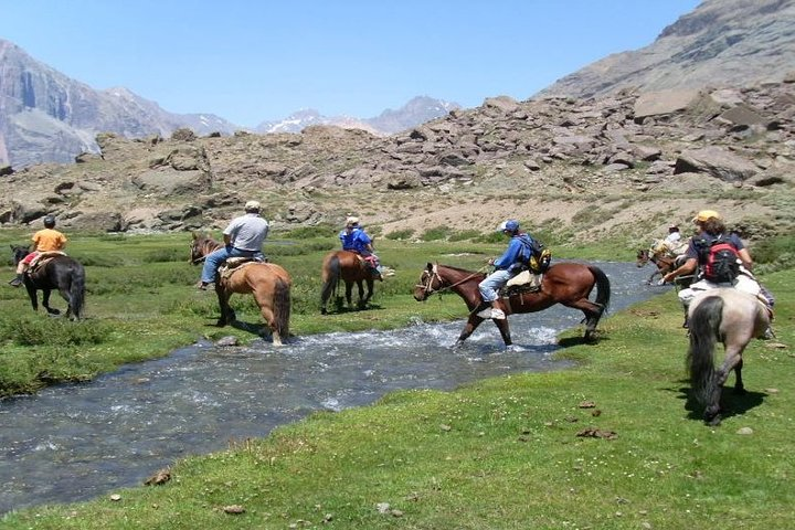 Horseback riding and wines from Santiago