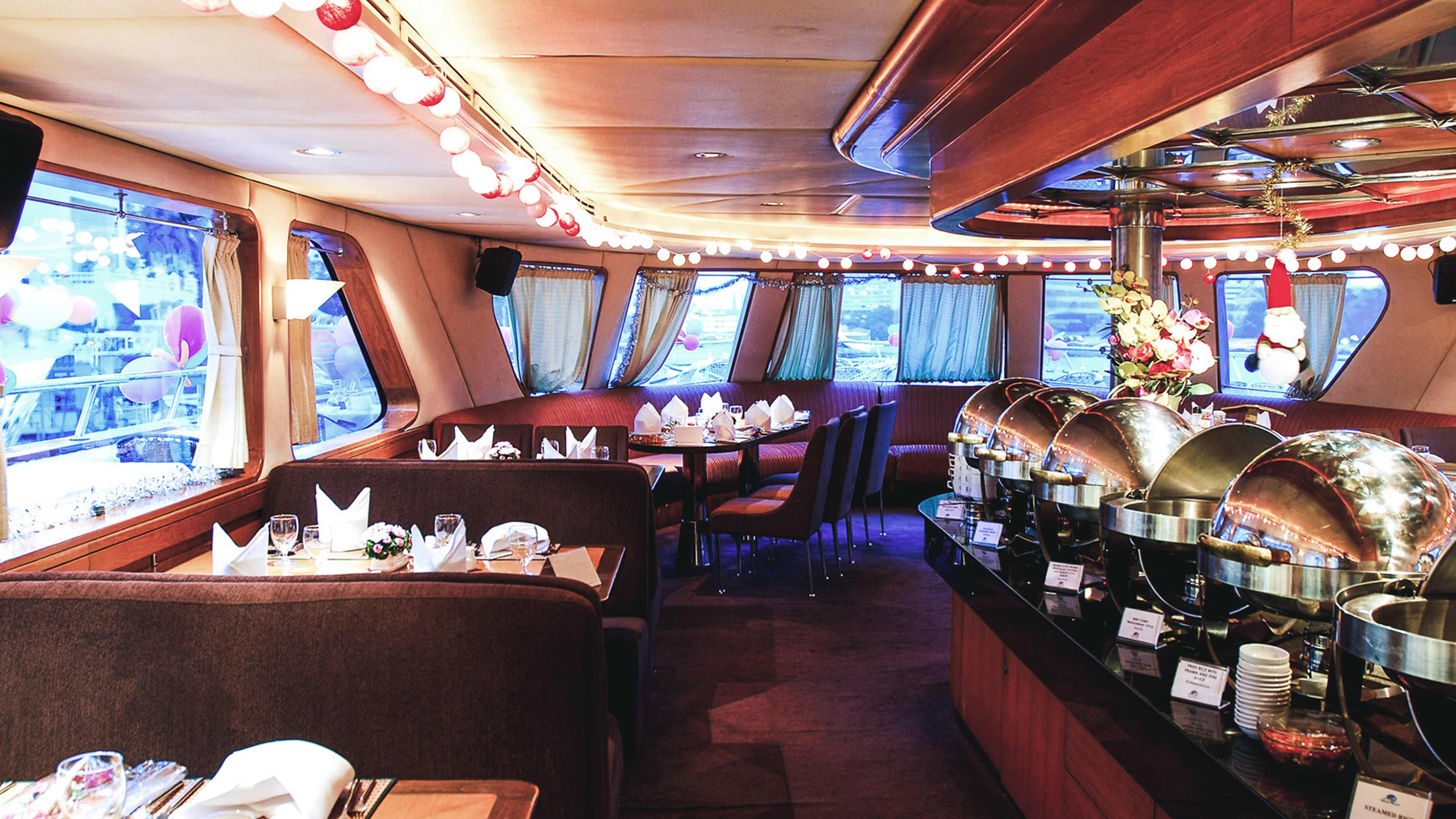 Grand Pearl Candle Lit Dinner Cruise