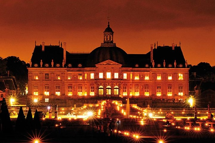 Candlelit evenings at Vaux Le Vicomte (every saturday from May,4th to Oct,5th )