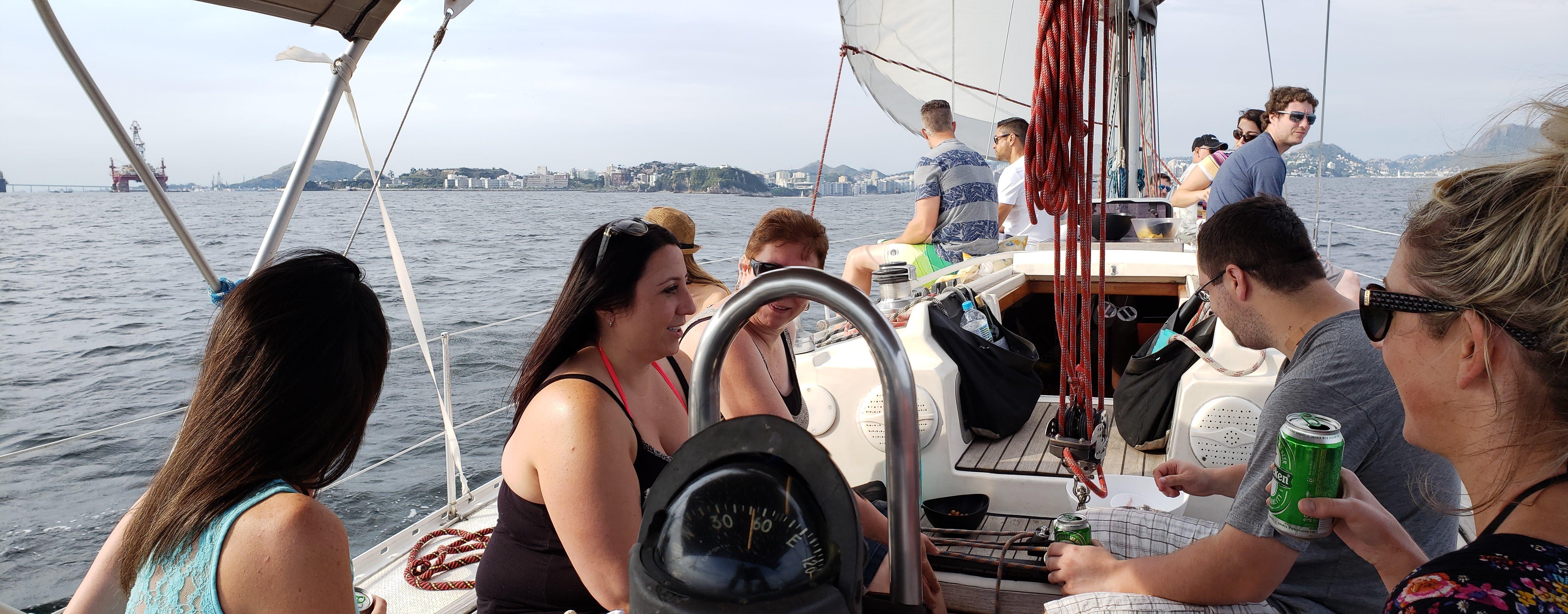 Ride on a private yacht along the Rio Grande