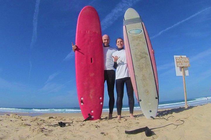Lisbon Surf Adventure & Wine Tasting Tour