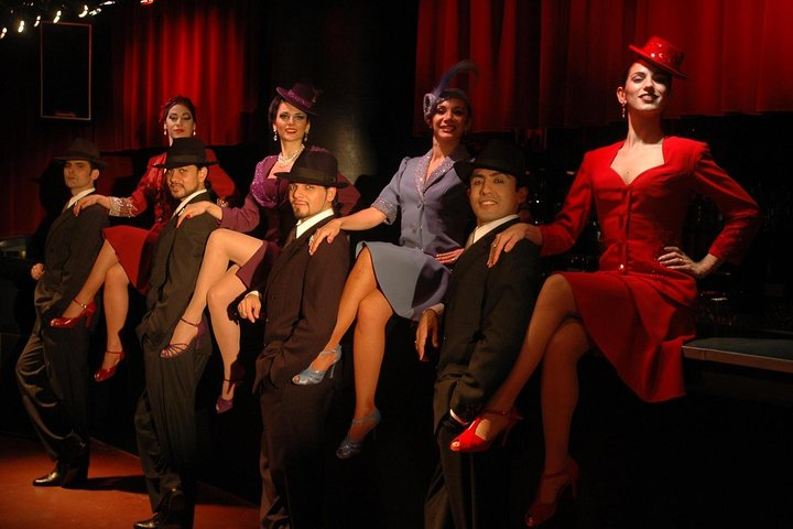Buenos Aires Shore Excursion: Rojo Tango Dinner and Tango Show