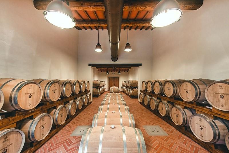 Wine tasting at Poggio ai Mandorli Estate in Chianti