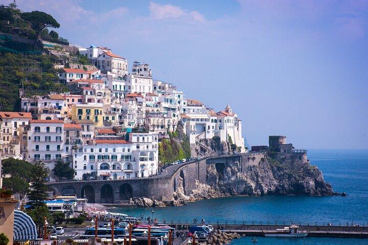 Positano-Amalfi-Ravello with lunch included