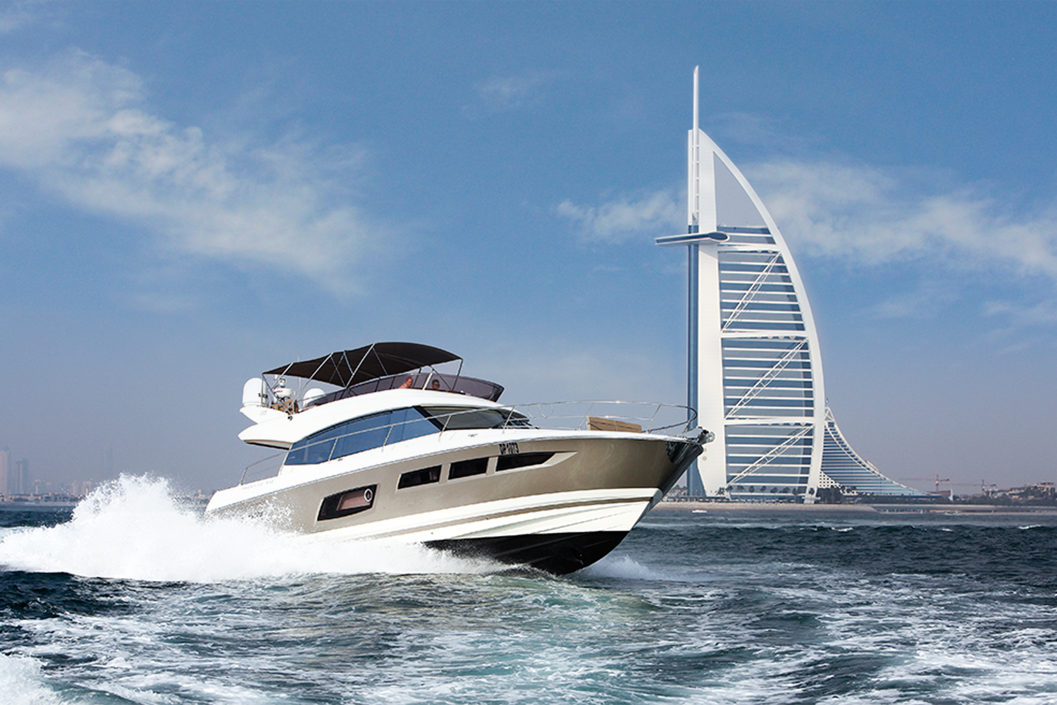 Luxury Yacht Tour with Delicious BBQ Dinner in Dubai Marina