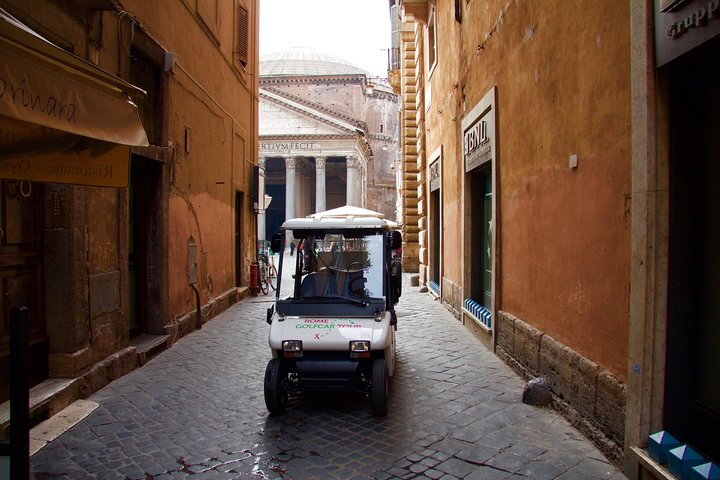 Take the Golf Cart through the Alleys