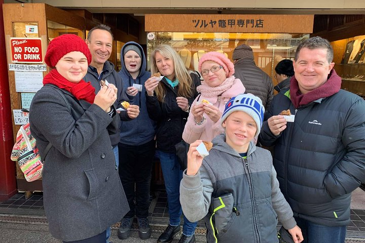 Asakusa Culture Tour with food & drinks PLUS Onsen Experience