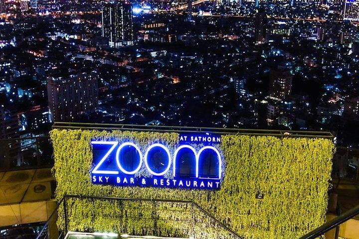 Zoom Rooftop Skybar Dining At Anantara Sathorn