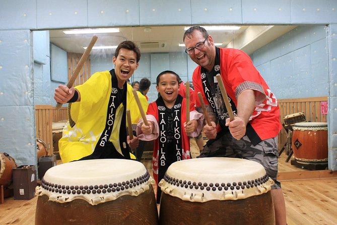 Taiko drum lessons