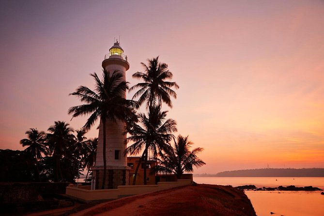 Galle Lighthouse in the evening