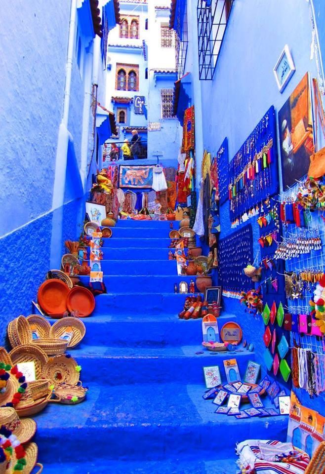 Chefchaoun - blue city of Morocco