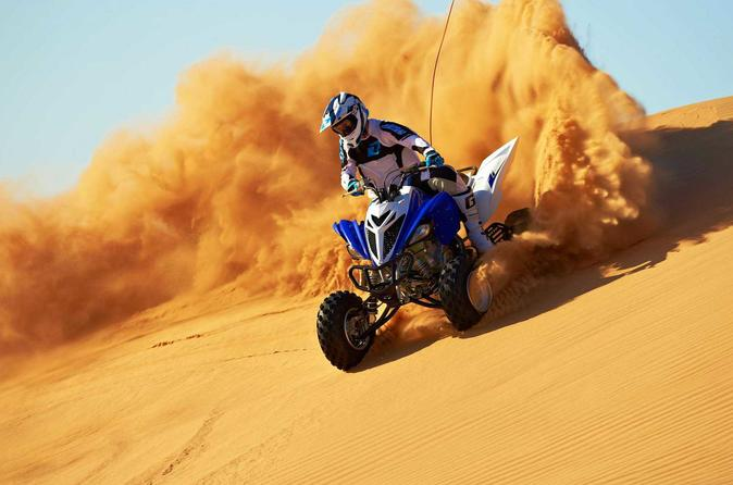 Get a thrilling ride on a ATV