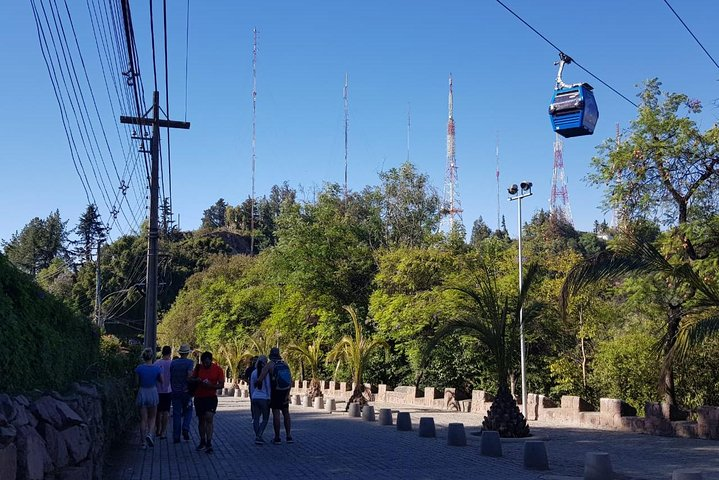 Small Group Pre or Post Cruise Santiago City Tour and Undurraga Winery