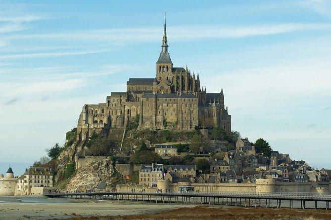 Visit Mont-Saint-Michel on a day tour from Paris.