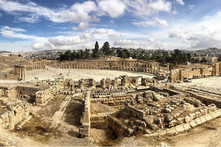 Jerash archaeological site