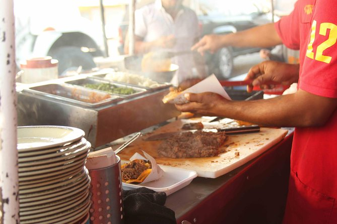 Mexican Street food, Tijuana Day trip from San Diego