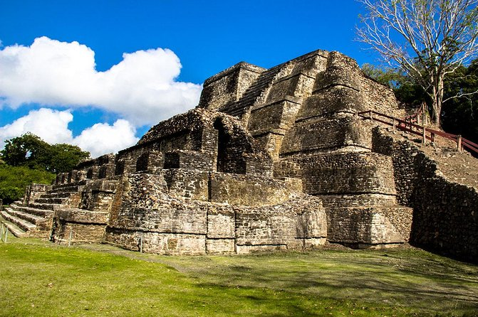 Inspect the ancient Maya Temple