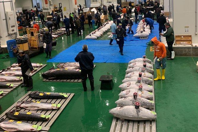 Tuna Auction & Tokyo's Fish Market Tour in Toyosu & Tsukiji