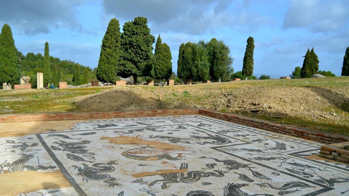 Visit the Roman site in Seville.