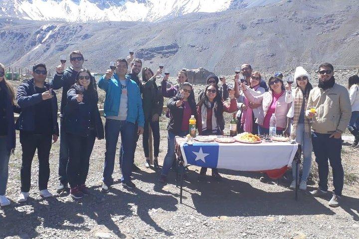 Small Group Tour: Cajon del Maipo, El yeso Dam included Hotsprings plus Picnic