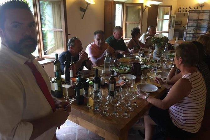 Wine tasting at Agricola Fabbriche winery
