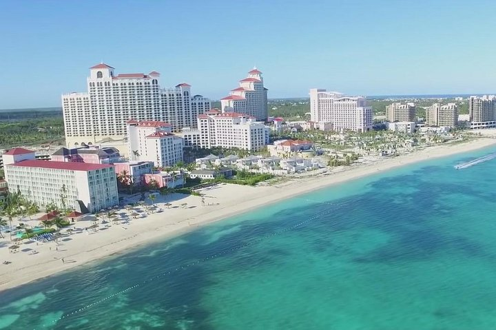 Visit for scenic views of the Bahamas