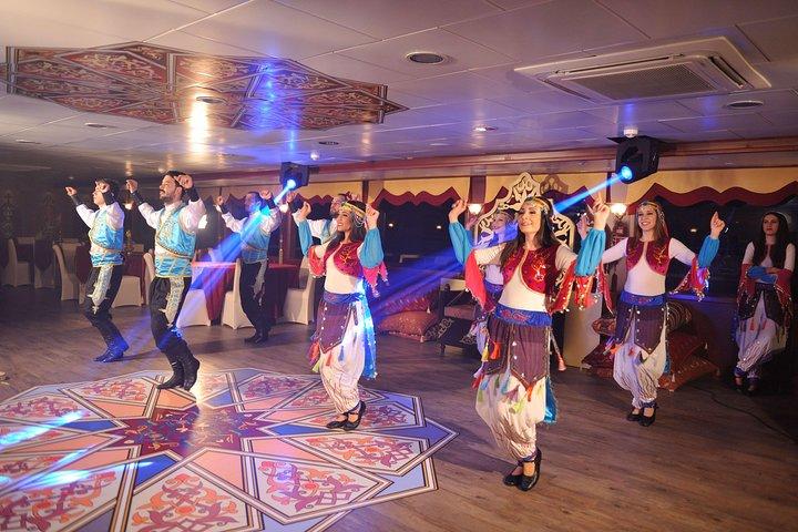 Traditional Turkish dancing