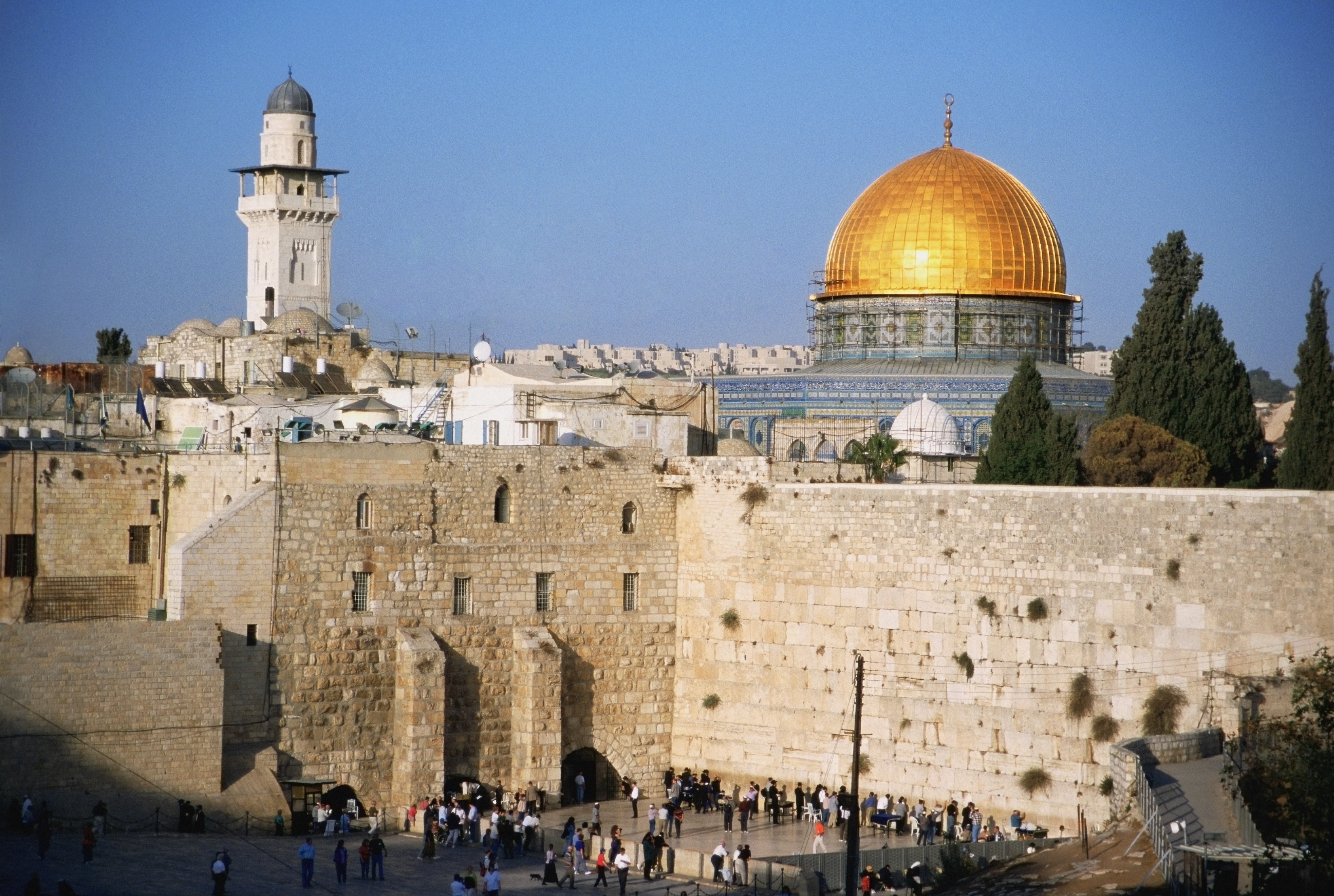 Western Wall (Wailing Wall) & Golden Dome