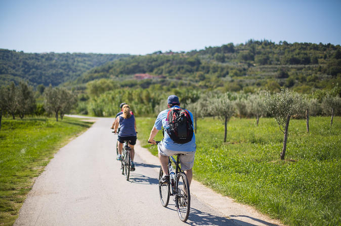 Enjoy cycling with in Parenzana
