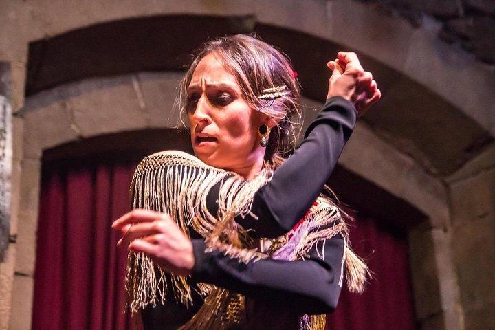 Barcelona Walking Tour, Tapas Dinner & Flamenco Show