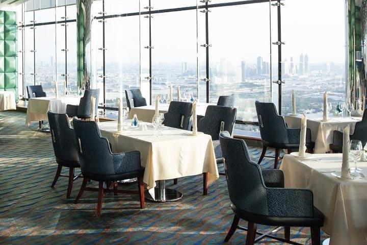 Dinner in Al Muntaha Restaurant - Burj al Arab