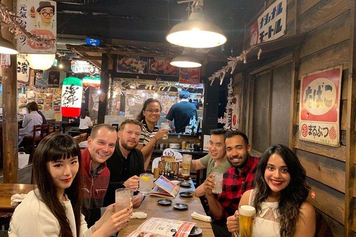 Osaka Bar Hopping Night Tour in Namba