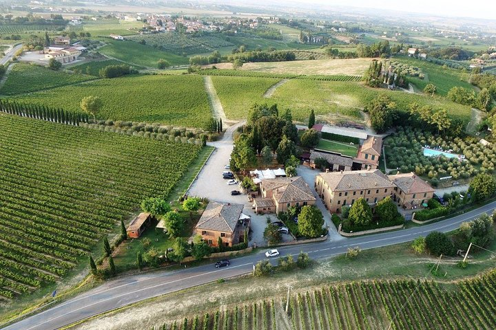Wine tasting in Montepulciano, visiting Siena, in Tuscany from Florence