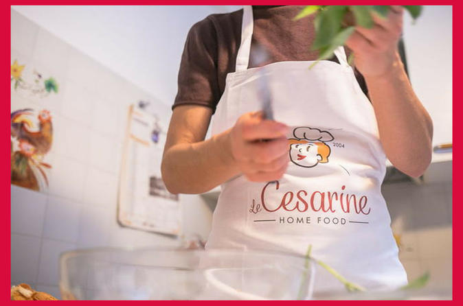 Private cooking class at a Cesarina's home with tasting in Siena
